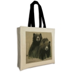 gusseted bag, canvas bags, UK made bags, designer bags, cotton bags, canvas bags, printed bags