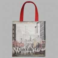 Digitally printed bag produced for The Lowry